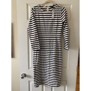 TAGS ON! Striped dress. 👗